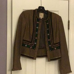 Brown jacket by Nanette Lepore size 4.